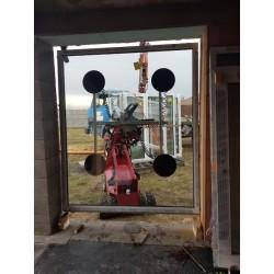 Montáž okien manipulatorom Glaslift