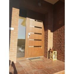 Vchodové dvere MB 70 s výplňou Gava 953